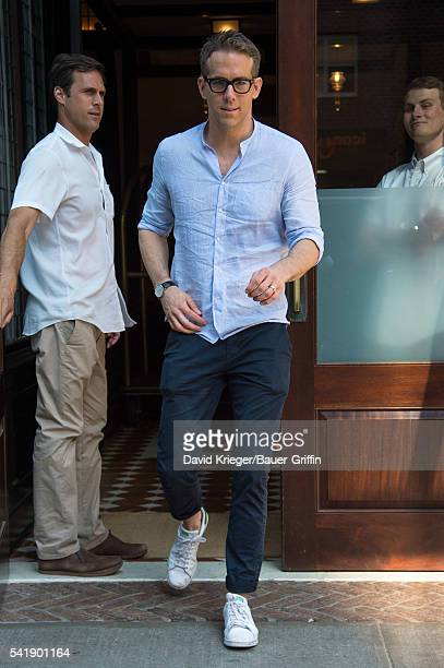 Ryan Reynolds is seen on June 20 2016 in New York City