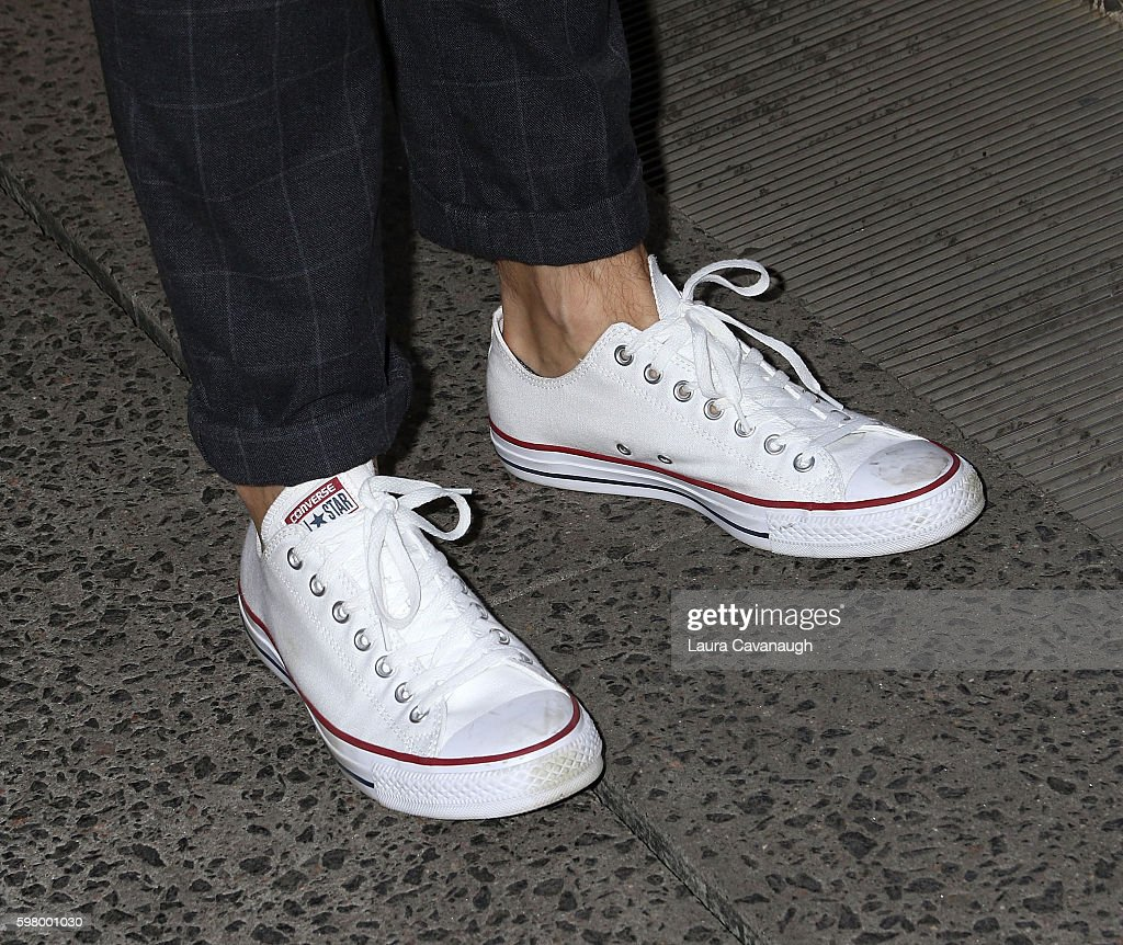 Ryan Reynolds shoe detail attends The One Tree Initiative Celebration at The Highline on August 30 2016 in New York City
