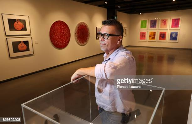 TORONTO ON SEPTEMBER 18 Ryan Rice curator of Raising a Flag an exhibition of contemporart Indigenous work inaugurating OCAD's new OnSite Gallery OCAD...