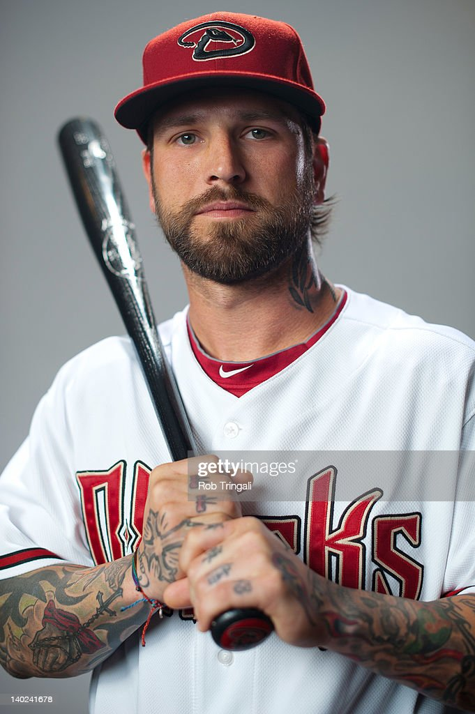Ryan Roberts #14 of the Arizona Diamondbacks poses during photo day at Salt River Fields at Talking Stick on March 1, 2012 in Scottsdale, Arizona.