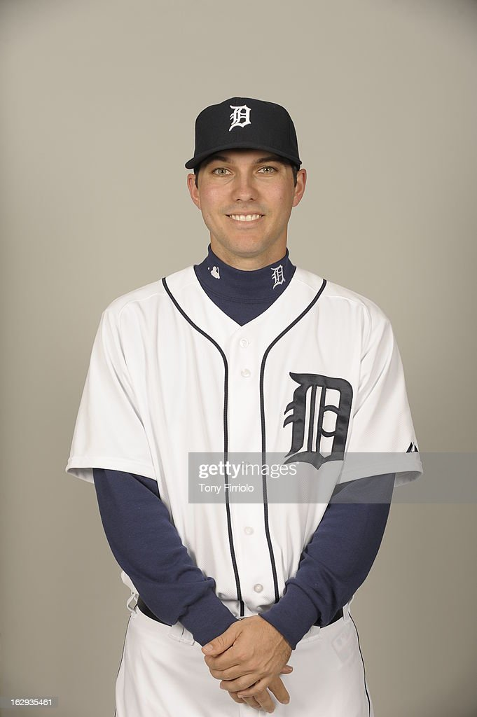 Ryan Robowski #76 of the Detroit Tigers poses during Photo Day on February 19, 2013 at Joker Marchant Stadium in Lakeland, Florida.