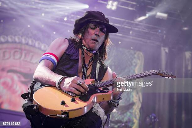 Ryan Roxie performs with the Alice Cooper Band at Wembley Arena on November 16 2017 in London England