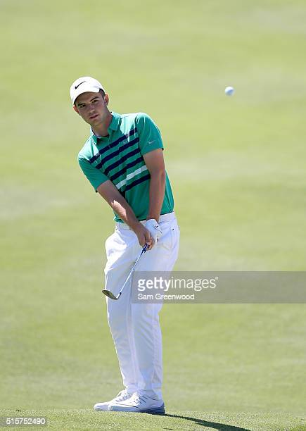 Ryan Ruffels of Australia plays a shot during a preview round for the Arnold Palmer Invitational Presented By MasterCard at Bay Hill Club and Lodge...