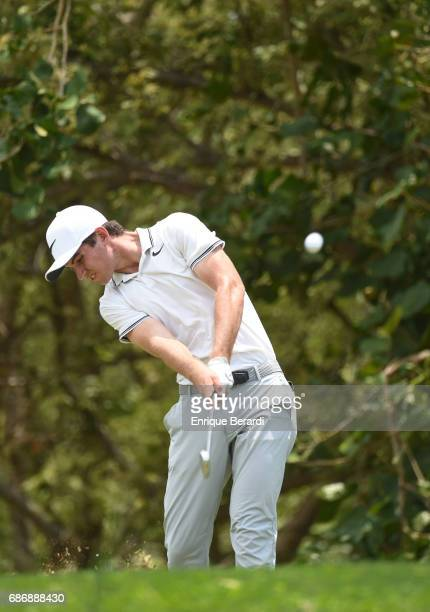 Ryan Ruffels of Australia tees off on the eighth hole during the first round of the PGA TOUR Latinoamerica Essential Costa Rica Classic at Reserva...