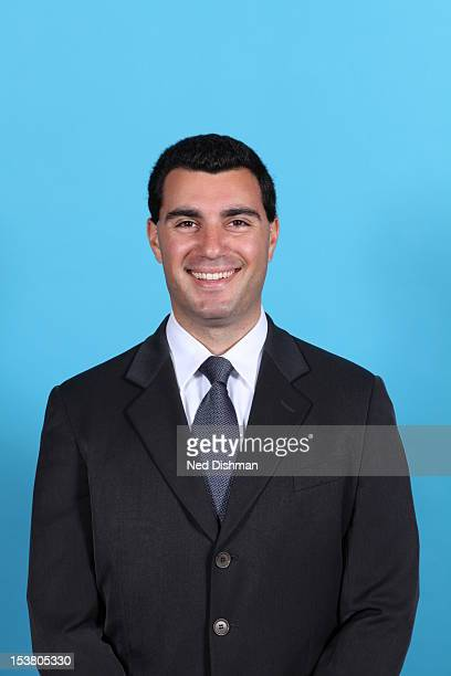 Ryan Saunders assistant coach of the Washington Wizards poses for a portrait during 2012 NBA Media Day at the Verizon Center on October 1 2012 in...