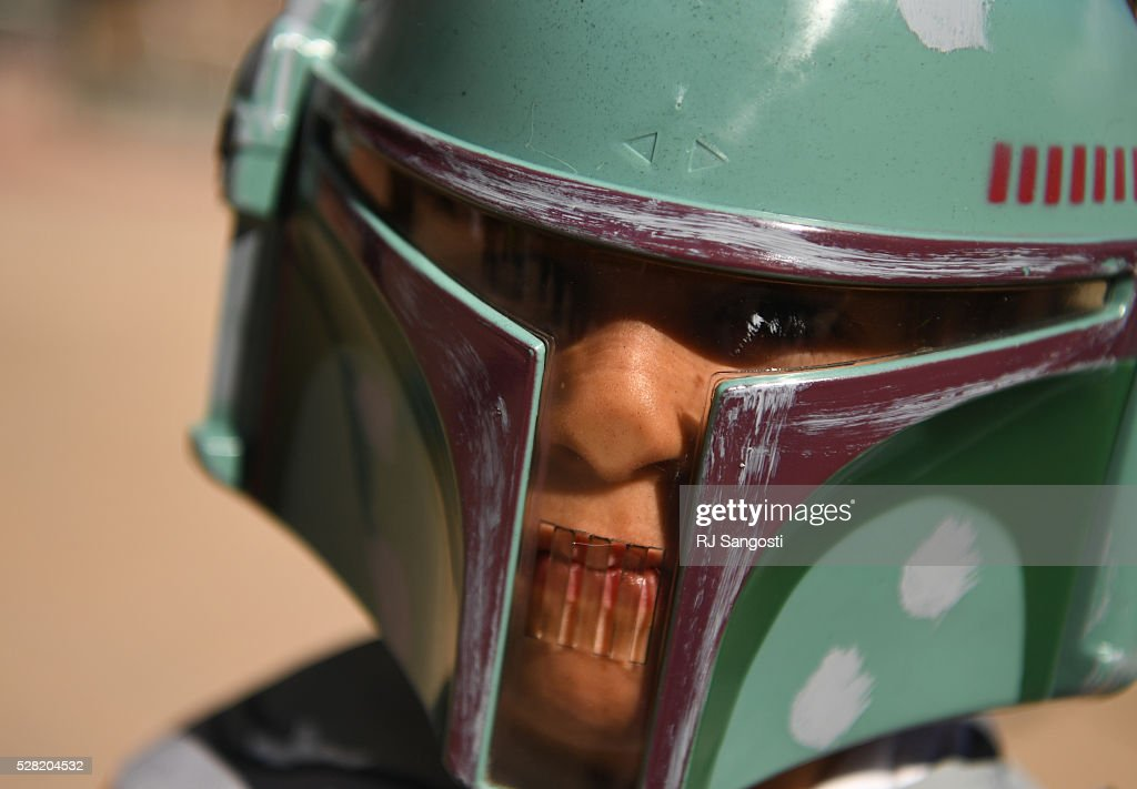 Ryan Saya, 4,is dressed up outside the Denver Art Museum, May 04, 2016. The museum held a May the 4th Be With You event to kick off ticket sales for the upcoming exhibition, Star Wars and the Power of Costume, opening at the DAM in November.