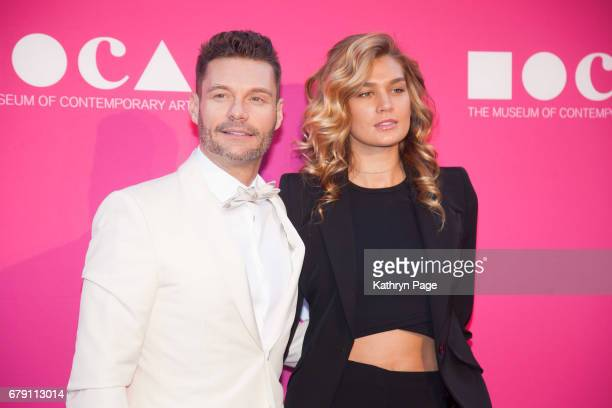 Ryan Seacrest and Shayna Taylor attend The Museum of Contemporary Art Los Angeles Annual Gala at The Geffen Contemporary at MOCA on April 29 2017 in...