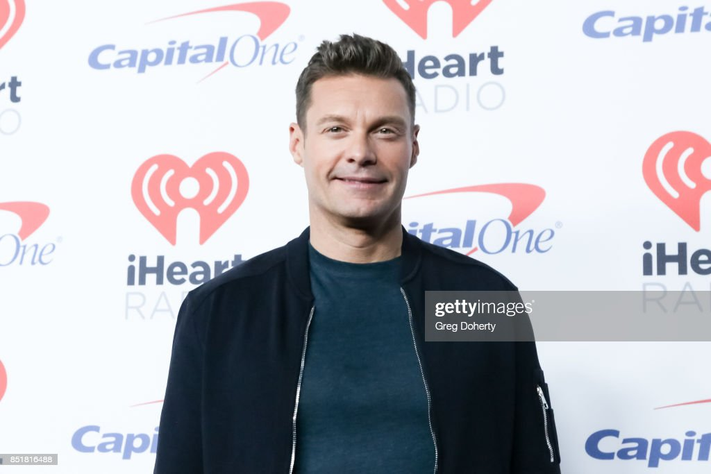 Ryan Seacrest arrives for the 2017 iHeartRadio Music Festival at T-Mobile Arena on September 22, 2017 in Las Vegas, Nevada.