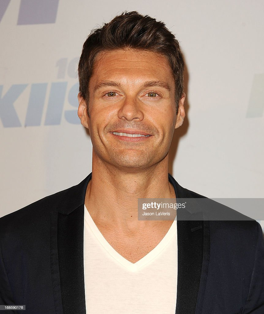 <a gi-track='captionPersonalityLinkClicked' href=/galleries/search?phrase=Ryan+Seacrest&family=editorial&specificpeople=201694 ng-click='$event.stopPropagation()'>Ryan Seacrest</a> attends 102.7 KIIS FM's Wango Tango at The Home Depot Center on May 11, 2013 in Carson, California.