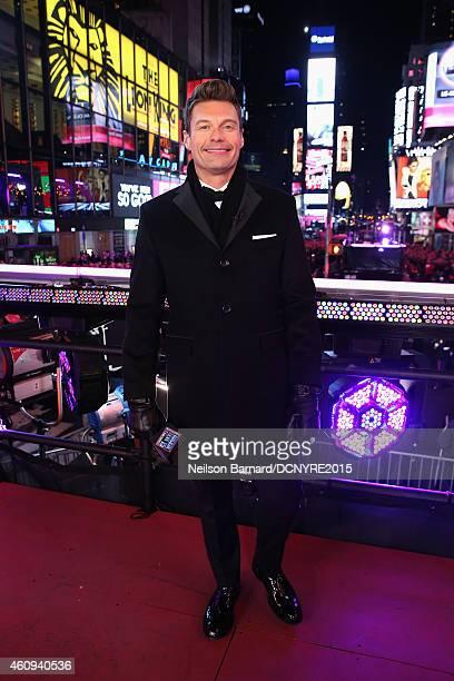 Ryan Seacrest attends Dick Clark's New Year's Rockin' Eve with Ryan Seacrest 2015 on December 31 2014 in New York City