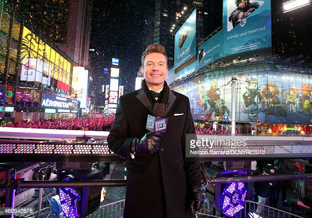 Ryan Seacrest attends Dick Clark's New Year's Rockin' Eve with Ryan Seacrest 2015 on December 31 2014 in New York City