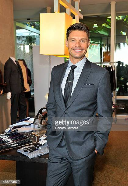 Ryan Seacrest attends Fall preview event for Ryan Seacrest Distinction launching at Macys August 6 2014 in Beverly Hills California