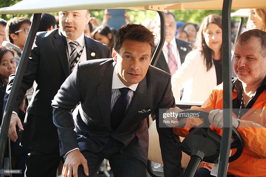 <a gi-track='captionPersonalityLinkClicked' href=/galleries/search?phrase=Ryan+Seacrest&family=editorial&specificpeople=201694 ng-click='$event.stopPropagation()'>Ryan Seacrest</a> attends FOX 2103 Programming Presentation Post-Party at Wollman Rink - Central Park on May 13, 2013 in New York City.