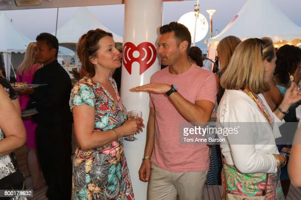 Ryan Seacrest attends iHeartMedia Women's Salon Dinner iHeartMedia hosts seated dinner of 40 female marketing and agency executives aboard the...