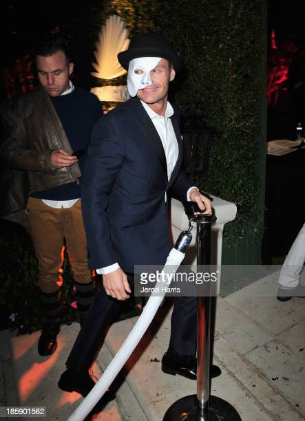 Ryan Seacrest attends the Casamigos Halloween Party at the home of Mike Meldman on October 25 2013 in Beverly Hills California