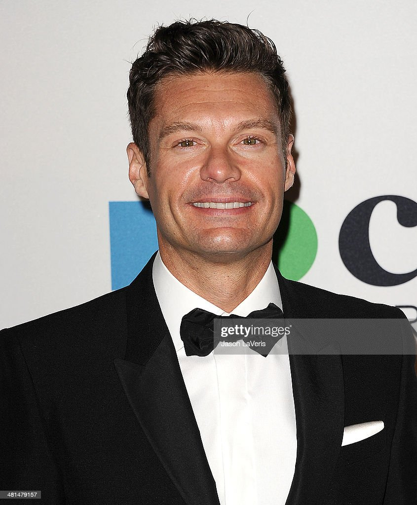 <a gi-track='captionPersonalityLinkClicked' href=/galleries/search?phrase=Ryan+Seacrest&family=editorial&specificpeople=201694 ng-click='$event.stopPropagation()'>Ryan Seacrest</a> attends the MOCA 35th anniversary gala celebration at The Geffen Contemporary at MOCA on March 29, 2014 in Los Angeles, California.