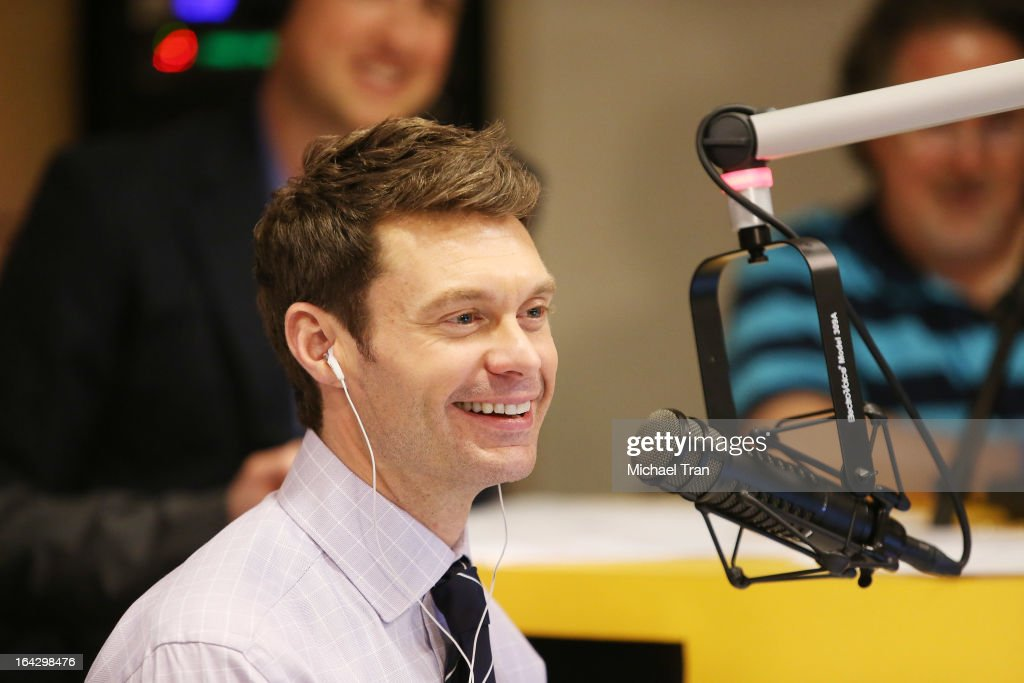 Ryan Seacrest attends The Ryan Seacrest Foundation West Coast debut of new multi-media broadcast center 'Seacrest Studios' held at CHOC Children's Hospital on March 22, 2013 in Orange, California.