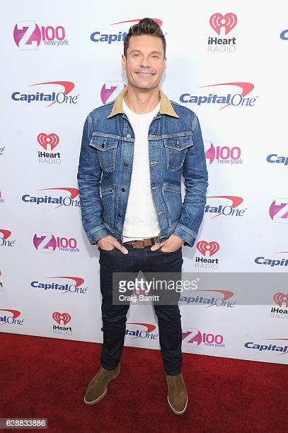 Ryan Seacrest attends Z100's Jingle Ball 2016 at Madison Square Garden on December 9 2016 in New York City