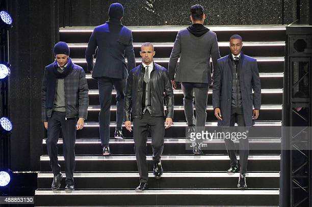 Ryan Seacrest Distinction Collection on the runway at Macy's Presents Fashion's Front Row at The Theater at Madison Square Garden on September 17...