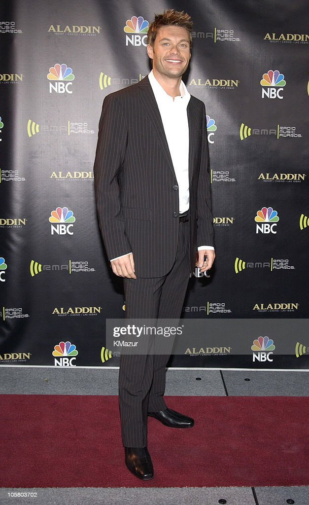 <a gi-track='captionPersonalityLinkClicked' href=/galleries/search?phrase=Ryan+Seacrest&family=editorial&specificpeople=201694 ng-click='$event.stopPropagation()'>Ryan Seacrest</a> during 2003 Radio Music Awards - Arrivals and Backstage at The Aladdin Hotel and Casino in Las Vegas, Nevada, United States.