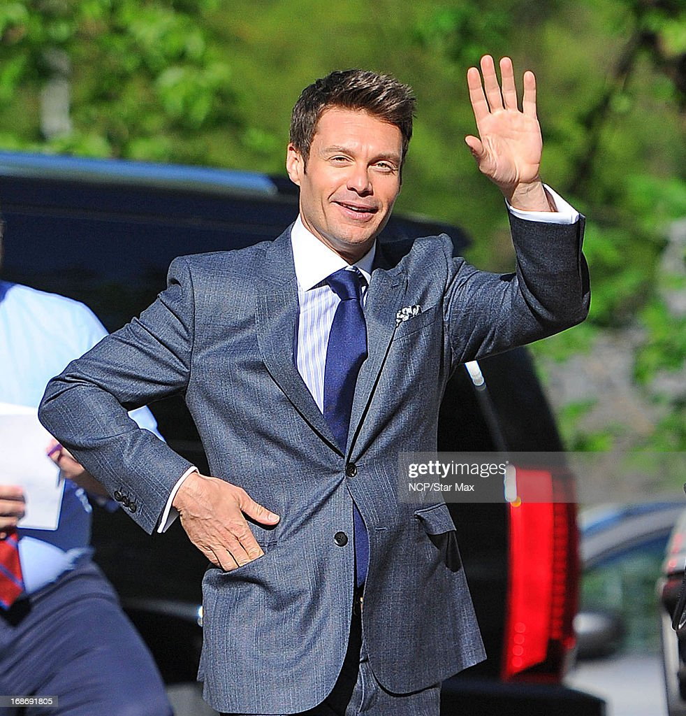 Ryan Seacrest is seen on May 13, 2013 in New York City.