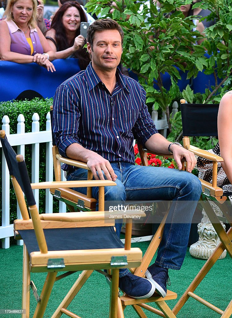 Ryan Seacrest visits ABC's 'Good Morning America' on July 15, 2013 in New York, United States.