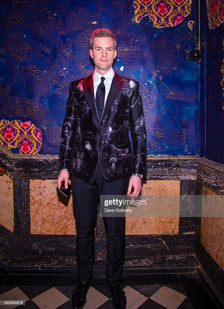 Ryan Serhant arrives at the 'Million Dollar Listing New York' Season 5 Premiere at Webster Hall on April 19 2016 in New York City