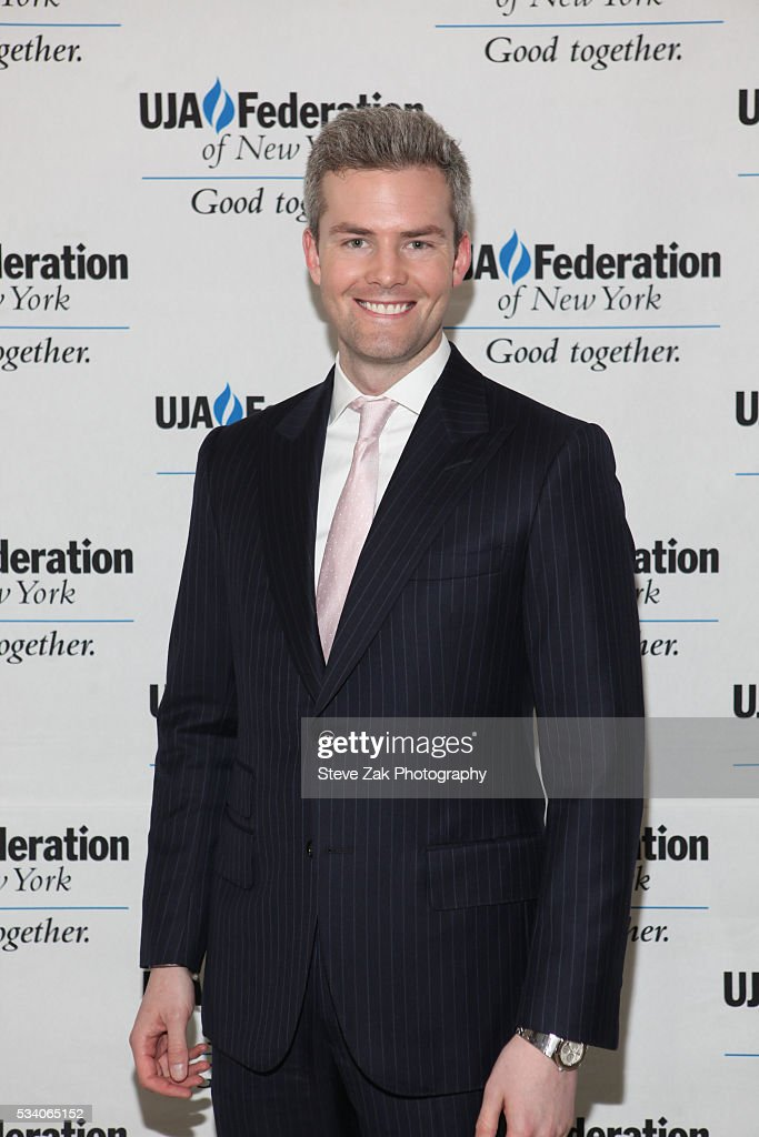 <a gi-track='captionPersonalityLinkClicked' href=/galleries/search?phrase=Ryan+Serhant&family=editorial&specificpeople=7139279 ng-click='$event.stopPropagation()'>Ryan Serhant</a> attends 2016 UJA-Federation of New York's publishing division dinner at The Pierre Hotel on May 24, 2016 in New York City.