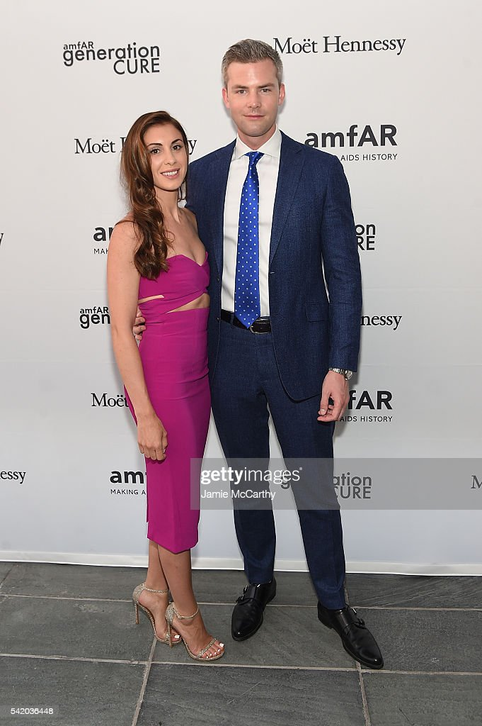 Ryan Serhant attends the amfAR generationCure Solstice 2016 on June 21 2016 in New York City