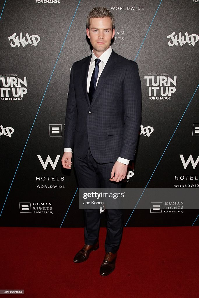 Ryan Serhant attends Turn It Up For Change ball to benefit HRC at W Hollywood on February 5 2015 in Hollywood California