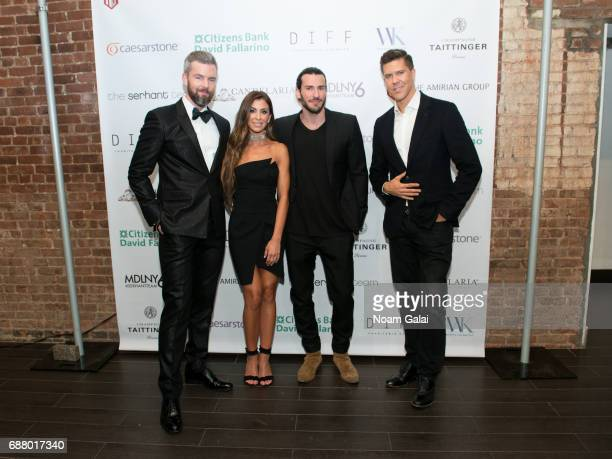 Ryan Serhant Emilia Bechrakis Steve Gold and Fredrik Eklund attend Ryan Serhant Hosts 'Million Dollar Listing New York' Season 6 New York Premiere at...