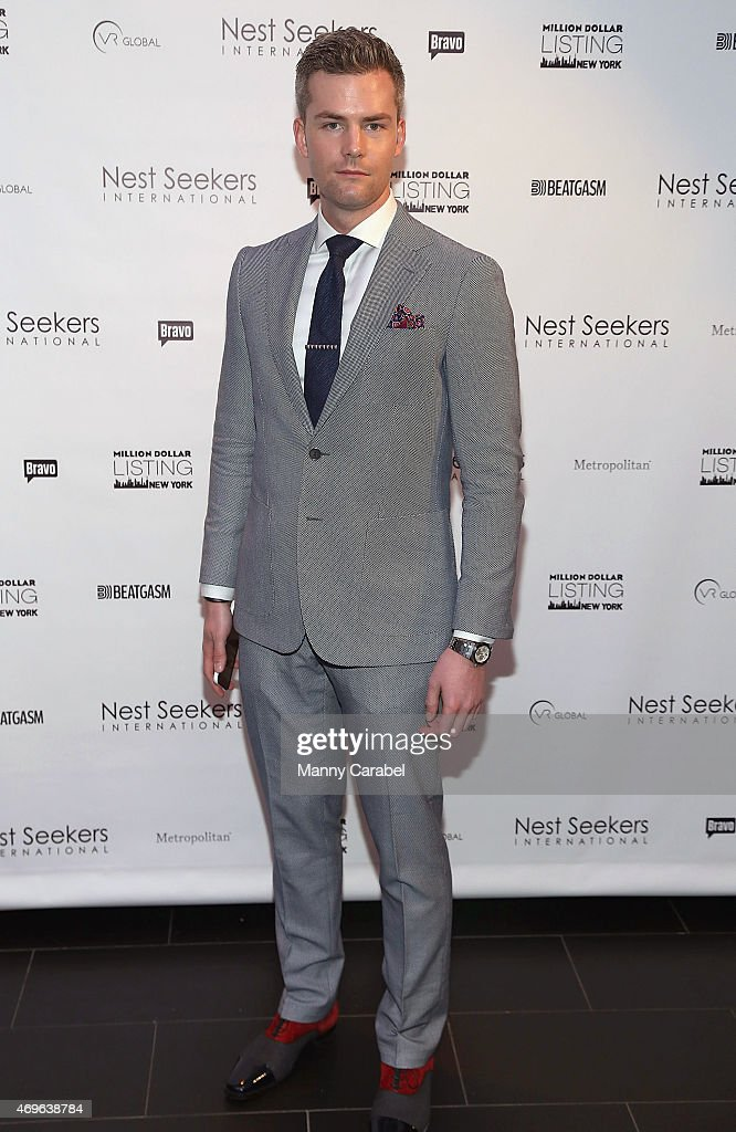 Ryan Serhant hosts the Million Dollar Listing New York Premiere Party at Marquee on April 13 2015 in New York City