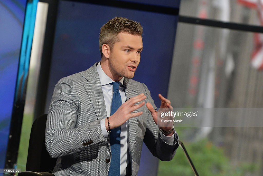 Ryan Serhant of Bravo's Million Dollar Listing New York visits Fox Business Network's 'Opening Bell' at FOX Studios on May 15 2015 in New York City