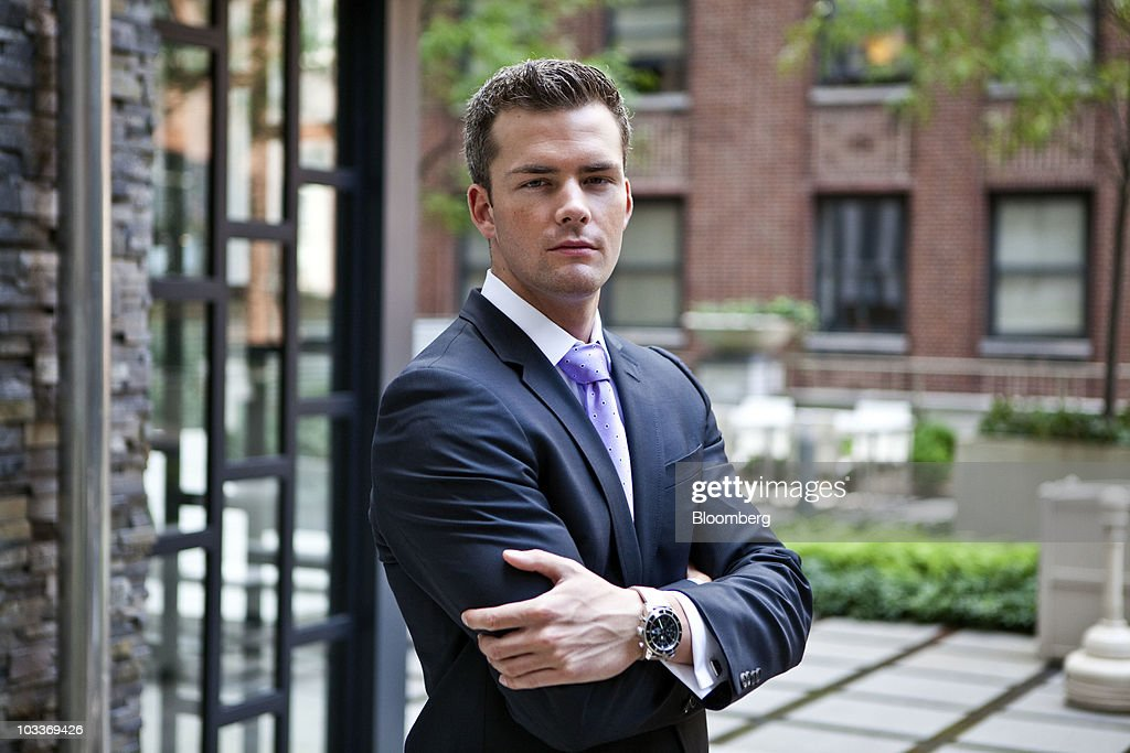 Ryan Serhant, vice president of Nest Seekers International, a brokerage for residential and vacation properties, stands for a photo at the 99 John Deco Lofts condo building in New York, U.S., on Friday, July 30, 2010. In March, the Federal Housing Administration (FHA) agreed to insure mortgages made at the 442-unit conversion project, allowing buyers to acquire an apartment with a down payment of as little as 3.5 percent. The development had 10 units go into contract with FHA backing, but the agency suspended its support for the building on August 3. Photographer: Ramin Talaie/Bloomberg via Getty Images