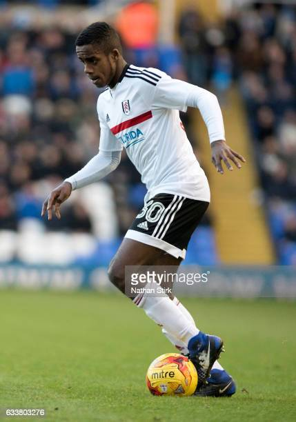 Ryan Sessegnon of Fulham in action during the Sky Bet Championship match between Birmingham City and Fulham at St Andrews Stadium on February 4 2017...
