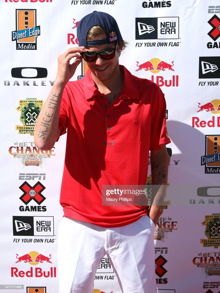 <a gi-track='captionPersonalityLinkClicked' href=/galleries/search?phrase=Ryan+Sheckler&family=editorial&specificpeople=962177 ng-click='$event.stopPropagation()'>Ryan Sheckler</a> hosts an X Games Celebrity Golf Tournament at Trump National Golf Course on June 26, 2012 in Palos Verdes Estates, California.