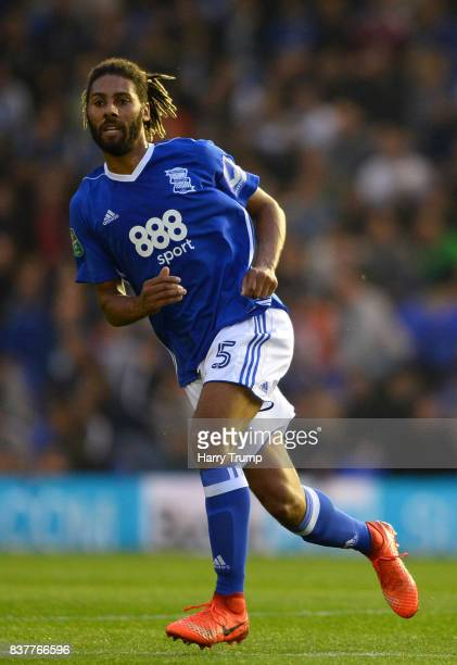 Ryan Shotton of Birmingham City during the Carabao Cup Second Round match between Birmingham City and AFC Bournemouth at St Andrews Stadium on August...