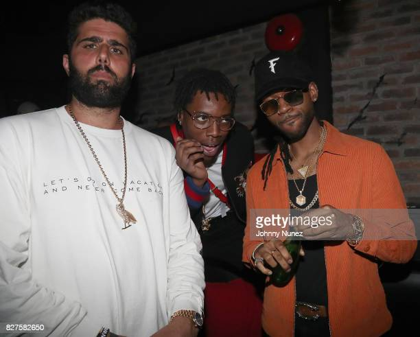 Ryan Silverstein Guest and PARTYNEXTDOOR attend the Official OVO Fest After Party In Toronto For Caribana 2017 on August 7 2017 in Toronto Canada