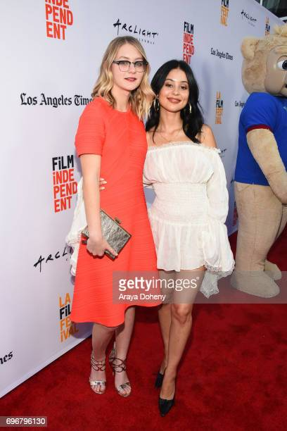 Ryan Simpkins and Alexa Demie attend the 2017 Los Angeles Film Festival Gala screening of Sony Pictures Classic's 'Brigsby Bear' at ArcLight...