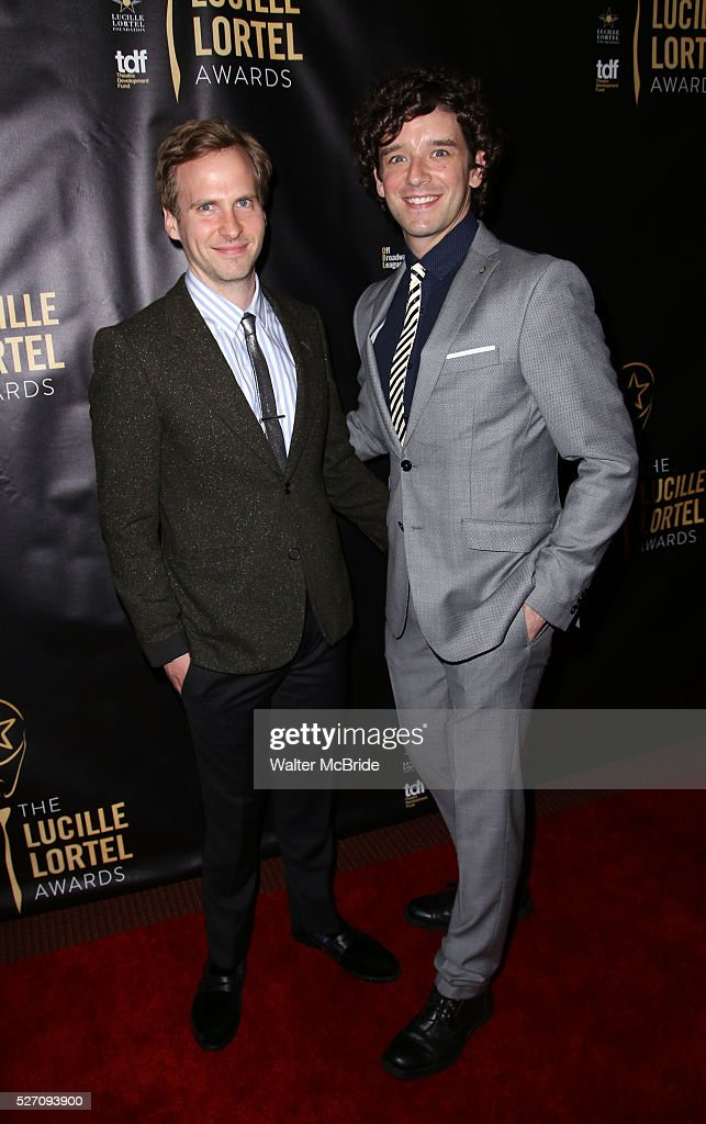 Ryan Spahn and <a gi-track='captionPersonalityLinkClicked' href=/galleries/search?phrase=Michael+Urie&family=editorial&specificpeople=883711 ng-click='$event.stopPropagation()'>Michael Urie</a> arrives at the 31st Annual Lucille Lortel Awards at NYU Skirball Center on May 1, 2016 in New York City. attend at the 31st Annual Lucille Lortel Awards at NYU Skirball Center on May 1, 2016 in New York City.