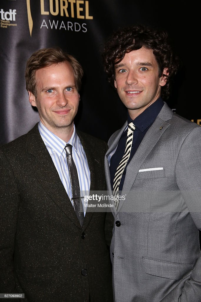 Ryan Spahn and Michael Urie arrives at the 31st Annual Lucille Lortel Awards at NYU Skirball Center on May 1, 2016 in New York City. attend at the 31st Annual Lucille Lortel Awards at NYU Skirball Center on May 1, 2016 in New York City.