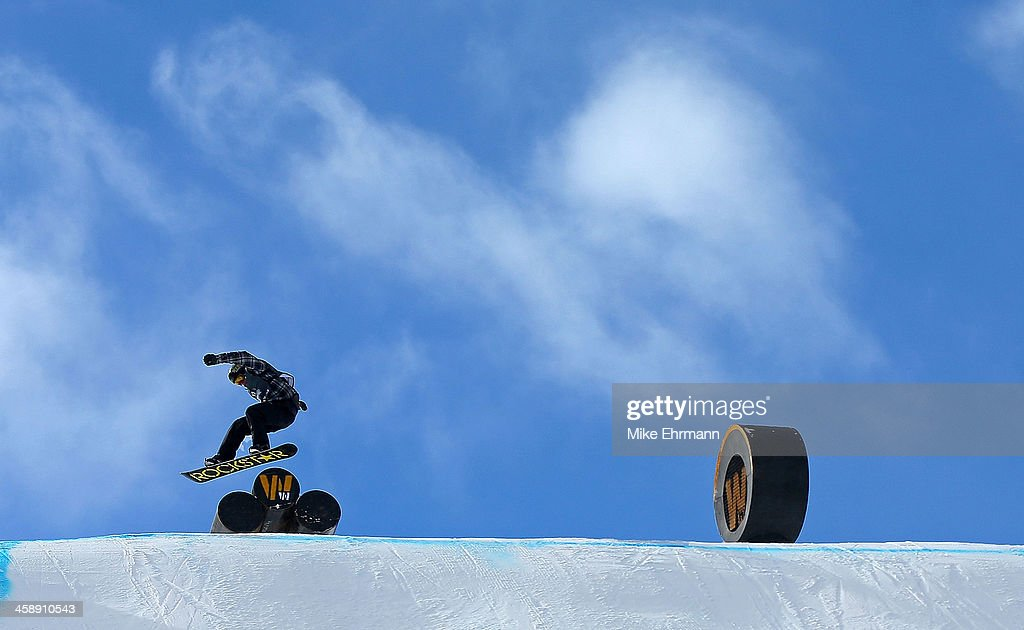 Ryan Stassel competes during finals for the mens FIS Snowboard Slopestyle World Cup at U.S. Snowboarding and Freeskiing Grand Prix on December 22, 2013 in Copper Mountain, Colorado.