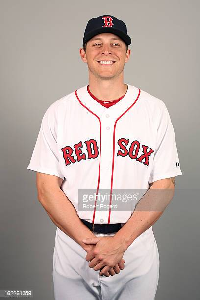 Ryan Sweeney of the Boston Red Sox poses during Photo Day on February 17 2013 at JetBlue Park in Fort Myers Florida