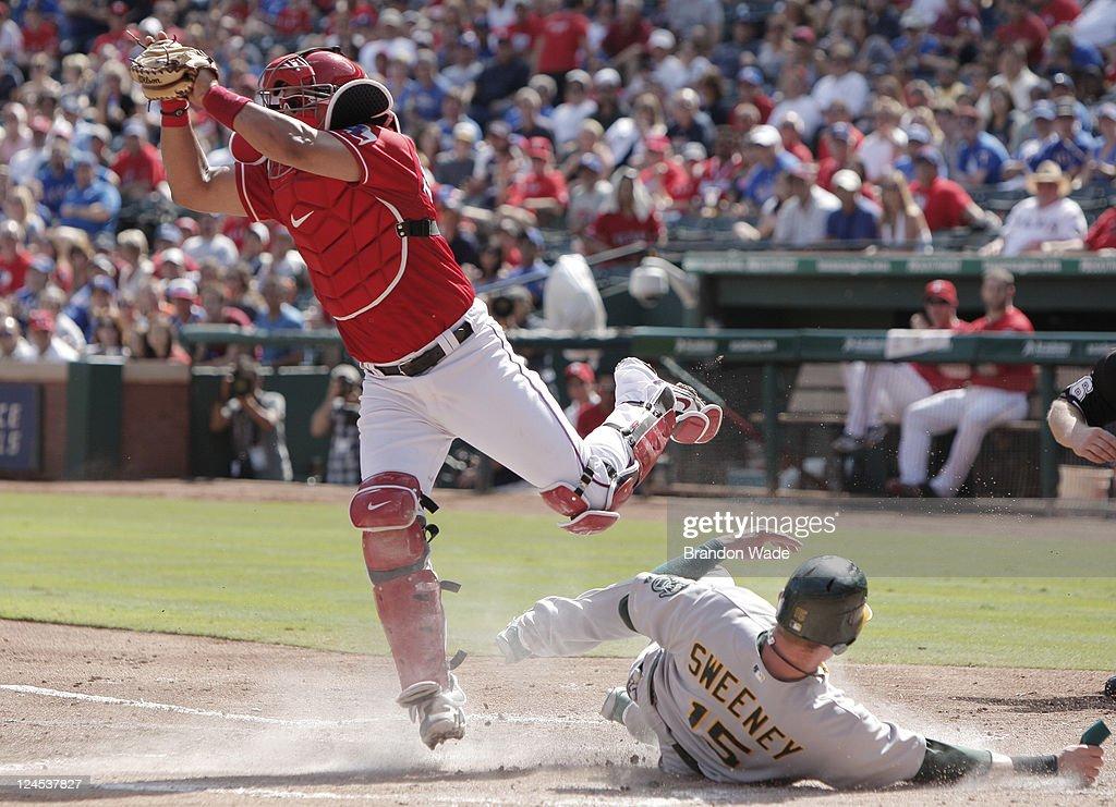 Oakland Athletics v Texas Rangers