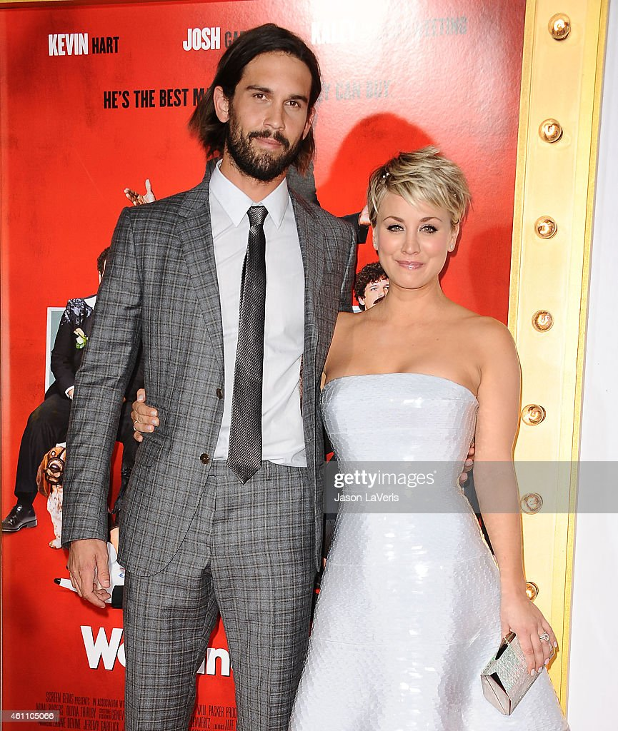 Ryan Sweeting And Kaley Cuoco Attend The Premiere Of The Wedding At Picture
