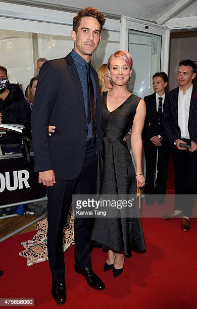 Ryan Sweeting and Kaley CuocoSweeting attend the Glamour Women of the Year Awards at Berkeley Square Gardens on June 2 2015 in London England