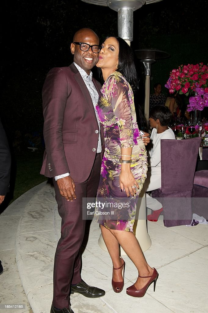 Ryan Tarpley and Shauna Bain Smith attend the House Of Flowers Gala on October 19, 2013 in Beverly Hills, California.