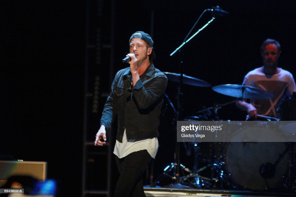 Ryan Tedder of One Republic performs as part of One Republic in Concert at Coliseo Jose Miguel Agrelot on June 9, 2017 in San Juan, Puerto Rico.
