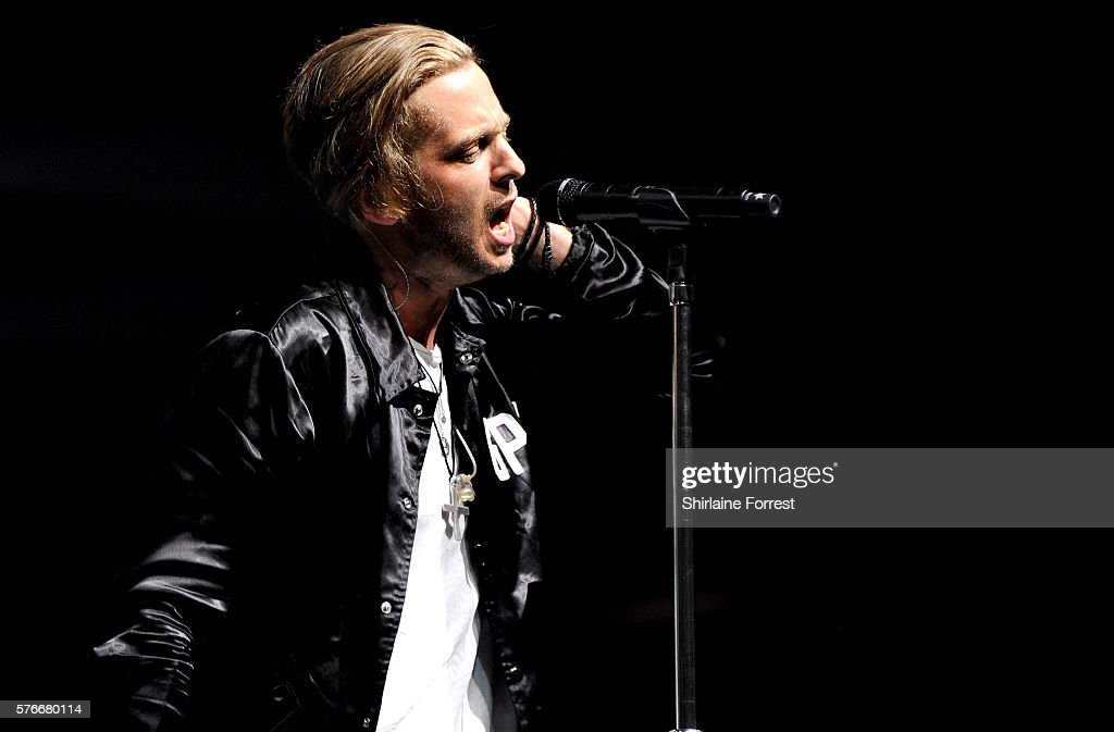 Ryan Tedder of One Republic performs at Key 103 Live at Manchester Arena on July 16 2016 in Manchester England