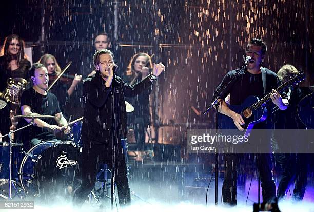 Ryan Tedder of One Republic performs on stage at the MTV Europe Music Awards 2016 on November 6 2016 in Rotterdam Netherlands